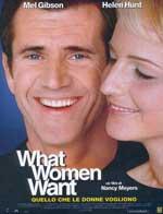 Locandina What Women Want (Quello che le donne vogliono)