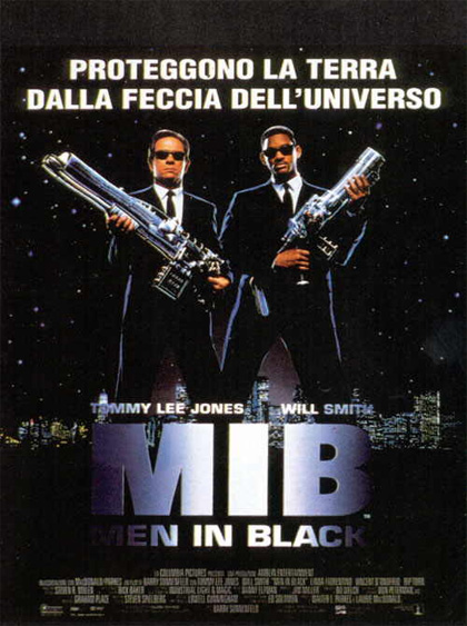 Locandina Men in Black