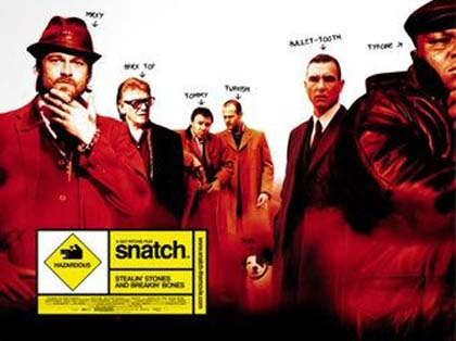 Poster Snatch – Lo strappo