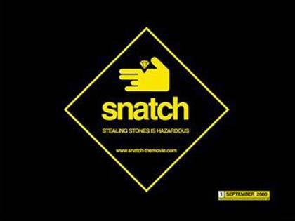 Poster Snatch � Lo strappo