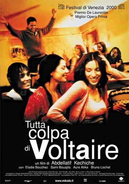 Locandina Tutta colpa di Voltaire