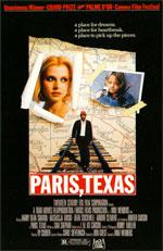 Locandina Paris, Texas