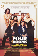 Locandina Four Rooms