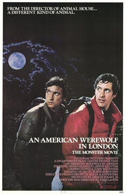 Locandina italiana Un lupo mannaro americano a Londra