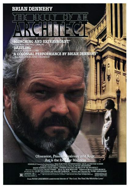 Locandina Il ventre dell'architetto