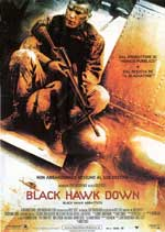 Locandina italiana Black Hawk Down