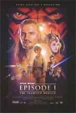 Locandina Star Wars: Episodio I - La minaccia fantasma