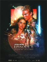 Locandina Star Wars: Episodio II - L'attacco dei cloni