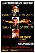 Locandina Agente 007, missione Goldfinger