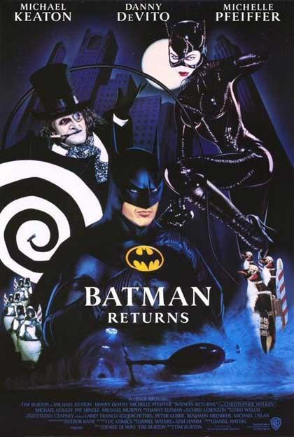 Locandina Batman – Il ritorno