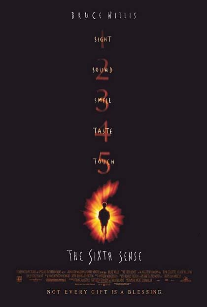 Poster The Sixth Sense - Il sesto senso