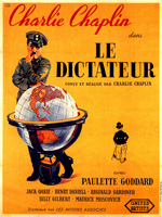 Poster Il grande dittatore  n. 1