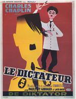Poster Il grande dittatore  n. 3