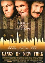 Locandina Gangs of New York