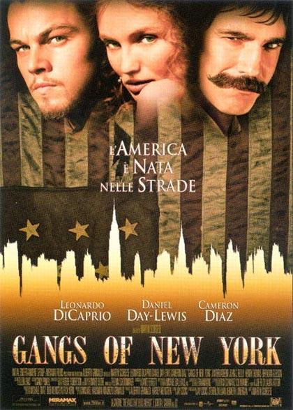 Locandina italiana Gangs of New York