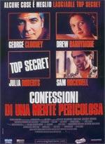Locandina Confessioni di una mente pericolosa