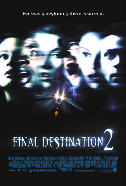 Locandina Final Destination 2
