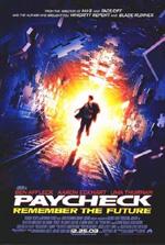 Locandina Paycheck