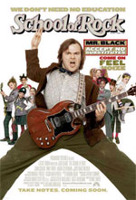 Locandina italiana School of Rock