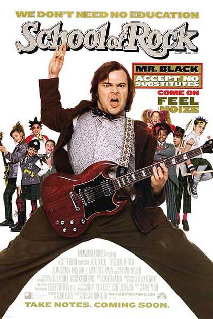 Poster School of Rock