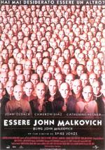 Locandina Essere John Malkovich