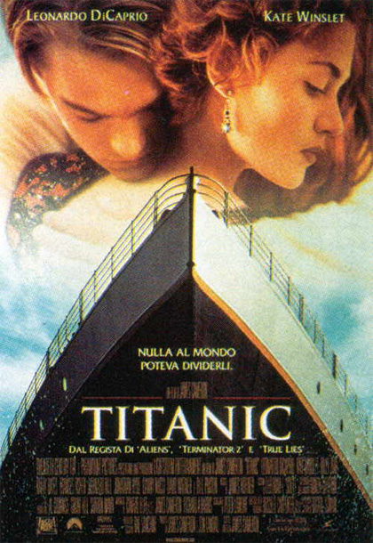 Guarda gratis Titanic in streaming italiano HD