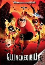 """Locandina Gli Incredibili - Una """"normale"""" famiglia di supereroi"""