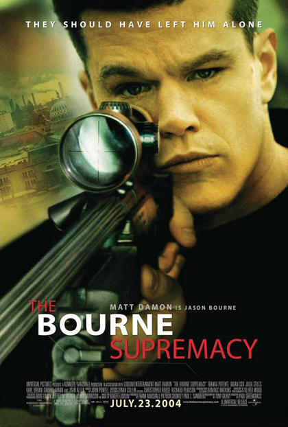 Locandina The Bourne Supremacy