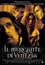 Locandina Il mercante di Venezia