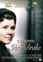 locandina Il segreto di Vera Drake