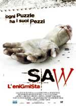 Locandina Saw - L'enigmista