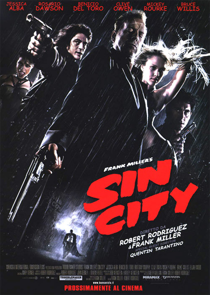 Locandina Sin City