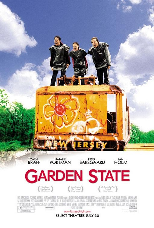 Locandina italiana La mia vita a Garden State