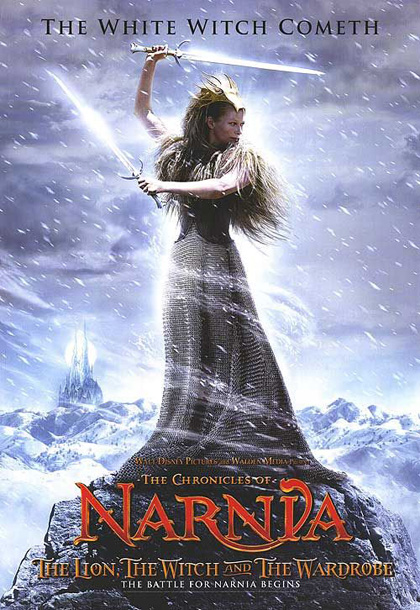 poster 2 - le cronache di narnia - il leone, la strega e l'armadio