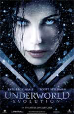 Locandina Underworld: Evolution