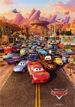 Locandina Cars - Motori ruggenti