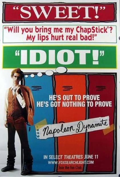 Poster Napoleon Dynamite