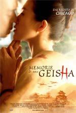 Locandina Memorie di una geisha