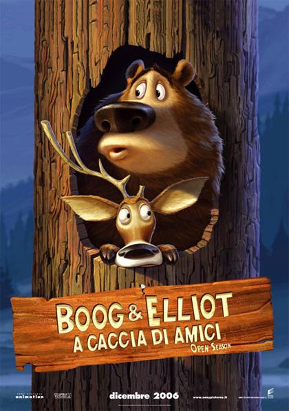 Poster boog elliot a caccia di amici