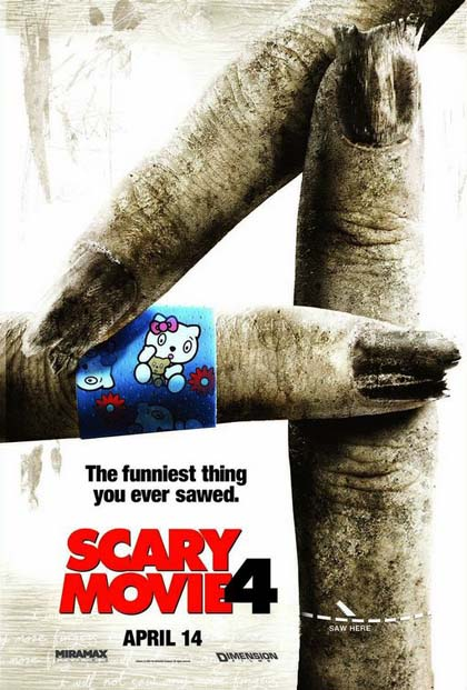Guarda gratis Scary Movie 4 in streaming italiano HD