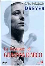 Locandina La passione di Giovanna d'Arco