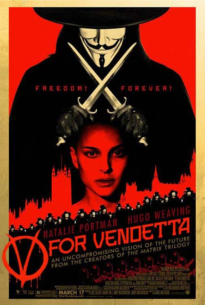 Locandina V per Vendetta