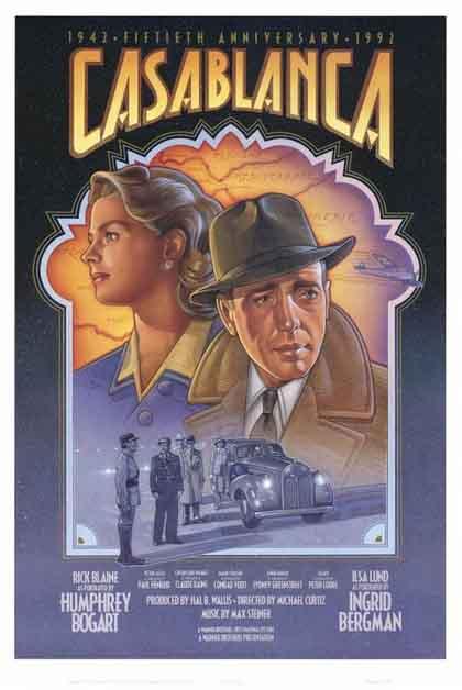 Poster 1  Casablanca