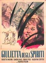 Locandina Giulietta degli spiriti