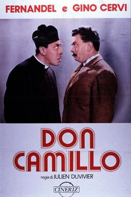 Locandina italiana Don Camillo