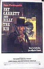 Locandina Pat Garrett e Billy the Kid