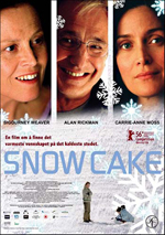 Trailer Snow Cake