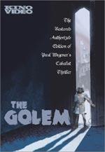 Locandina Il Golem - Come venne al mondo
