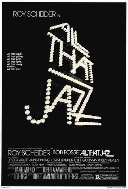 Poster All that Jazz - Lo spettacolo continua