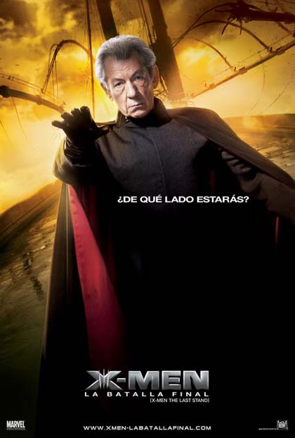 Poster X-Men: conflitto finale